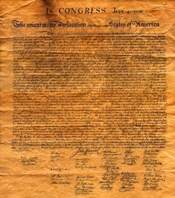 the declaration of - The Declaration Of